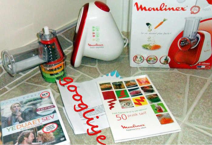Moulinex Fresh Express Rendeleme Dilimleme Aleti