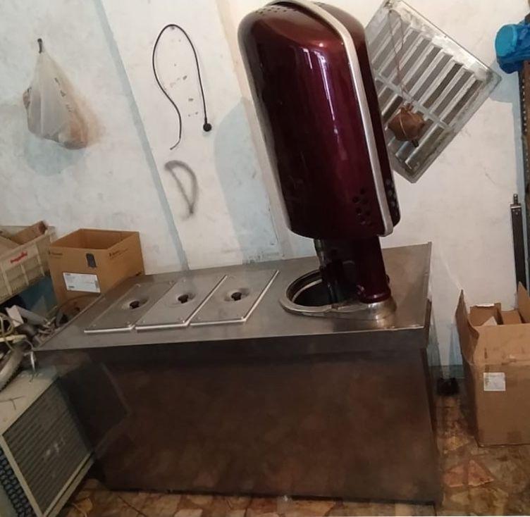 ikinci el 3 gozlu dondurma makinesi