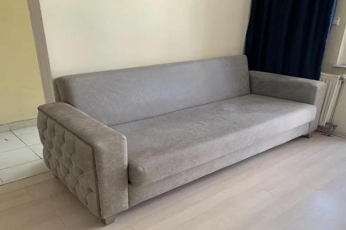 Kullanılmış çekyat yatak olan çekyat açılan kanepe