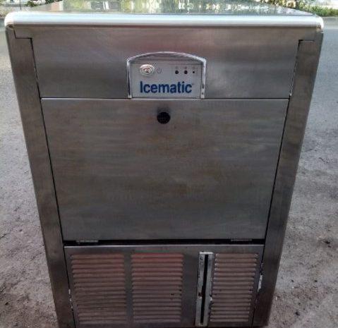buz makinesi 24 saatte 45 kilo buz yapar